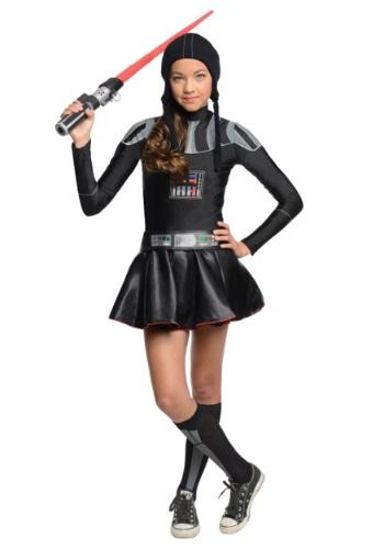 Disfraz vestido Tween de Darth Vader