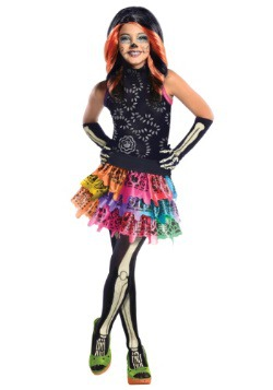 Disfraz infantil de Skelita de Monster High