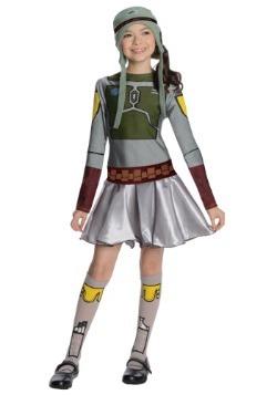 Disfraz de Boba Fett para niñas