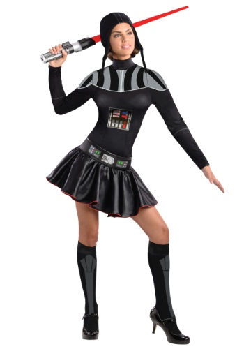 Disfraz vestido de Darth Vader para adulto