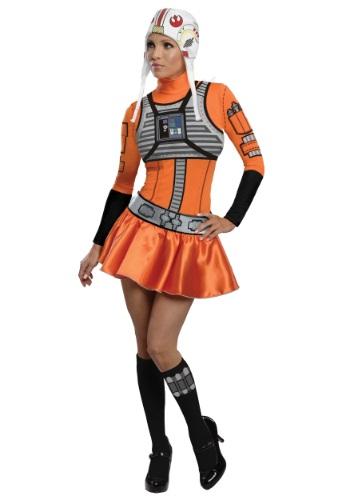 Disfraz de vestido de avión X-Wing para adulto