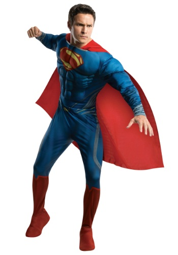Disfraz de Superman Man of Steel deluxe para adulto