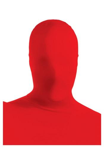 Máscara segunda piel roja