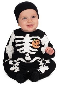 Disfraz de esqueleto negro infantil