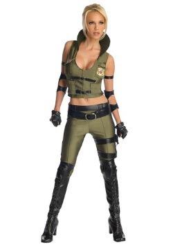Disfraz de Mortal Kombat Deluxe Sonya Blade