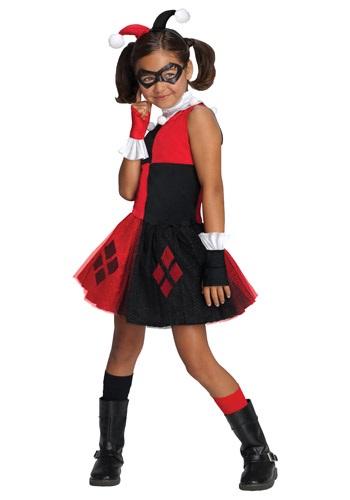 Disfraz de Harley Quinn con tutú para niñas
