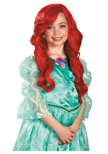 Peluca infantil de Ariel
