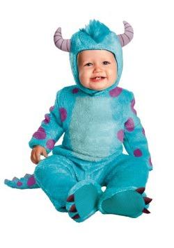 Disfraz de Sulley clásico para bebé