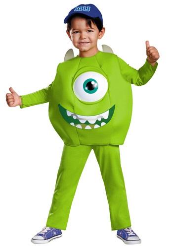 Disfraz de lujo de Mike para niños pequeños