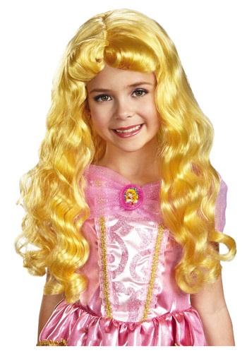 Peluca infantil de Aurora