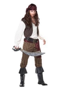 Disfraz de pirata rebelde para hombre