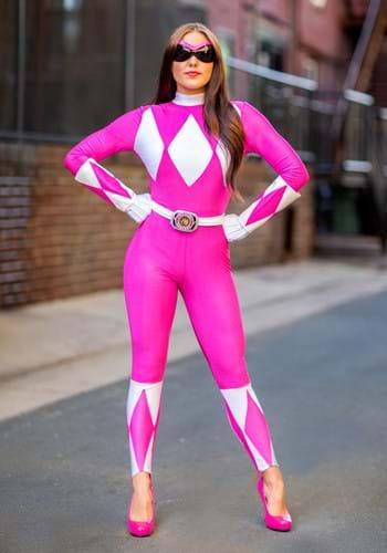 Disfraz completo atrevido de Ranger rosa Update