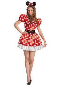 Disfraz rojo de Minnie Classic talla extra