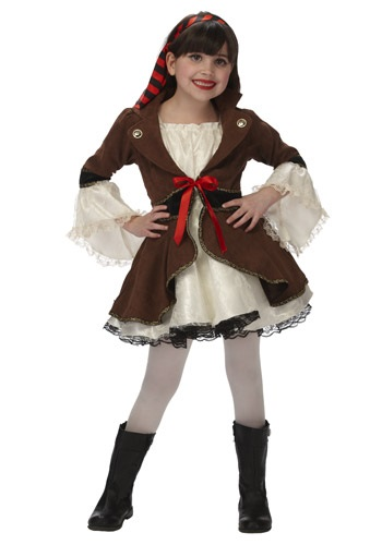 Disfraz de princesa pirata infantil
