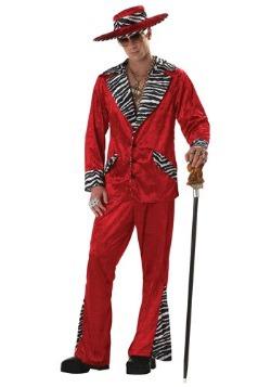 Disfraz de proxeneta rojo