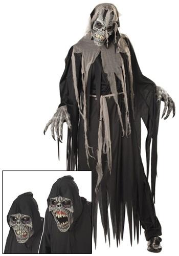 Disfraz de reptante de la cripta terrorífico