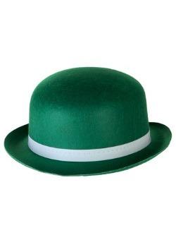 Sombrero de derby verde