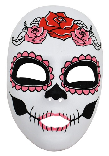 Máscara del Día de Muertos para mujer