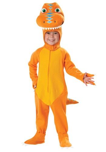 Disfraz de tren dinosaurio para niños pequeños