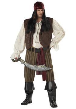 Disfraz de pirata canalla talla extra