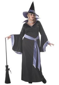 Disfraz de bruja glamorosa de Incantasia talla extra