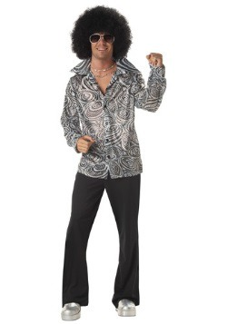 Camisa estilo disco para hombre
