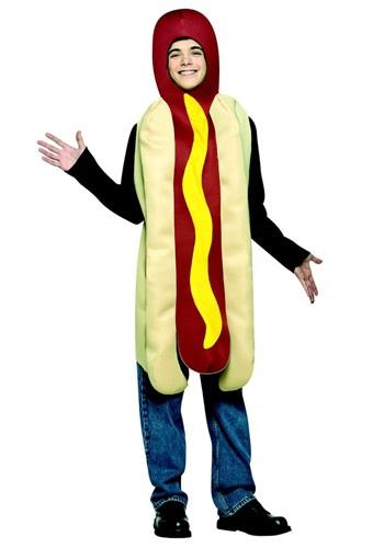 Disfraz de Hot Dog para adolescente