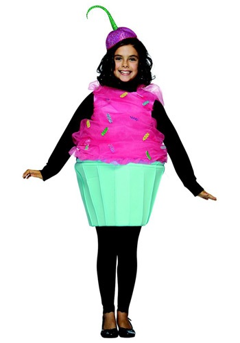 Disfraz infantil de cupcake dulce