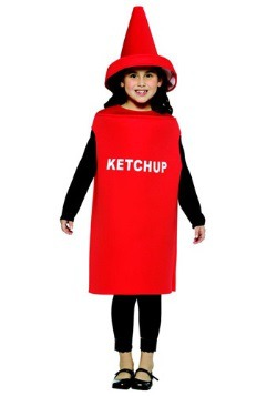 Disfraz infantil de cátsup