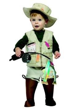 Disfraz de pescador para bebé/niño pequeño