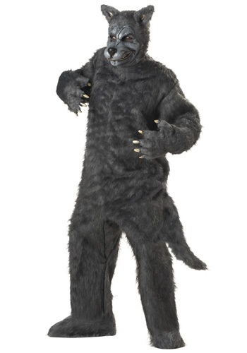 Disfraz de lobo feroz para adulto
