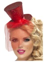 Mini gorro Fever Red Glitter