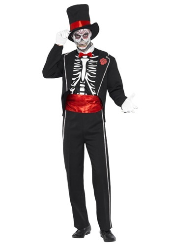 Disfraz de Día del Muerto para hombre
