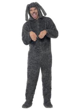 Disfraz de perro esponjado para adulto