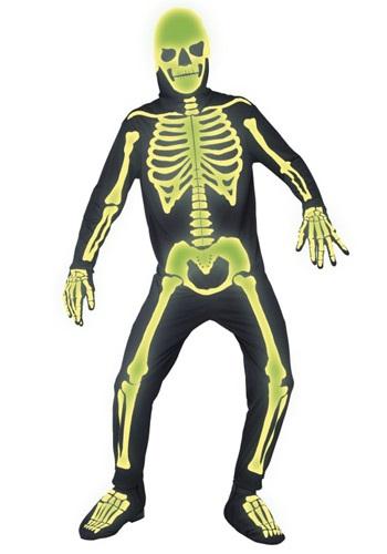 Disfraz huesos de cementerio de mansión gótica para hombre