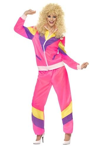 Traje de moda de altura de los años 80 para mujer
