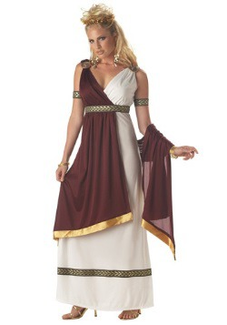 Disfraz de emperatriz romana