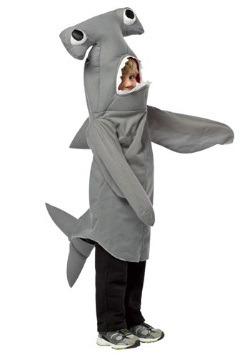 Disfraz de tiburón martillo para niños pequeños