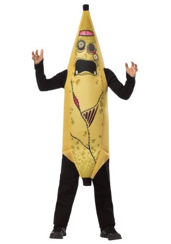 Frente de disfraz de niño Zombie Banana