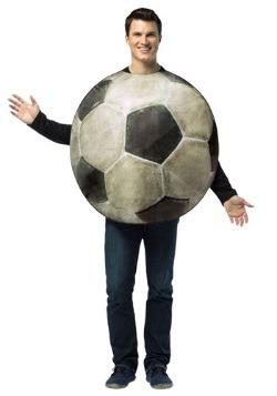 Disfraz de fútbol soccer Get Real para adulto