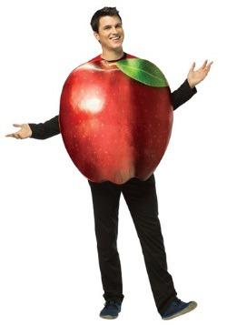 Disfraz de manzana Get Real para adulto