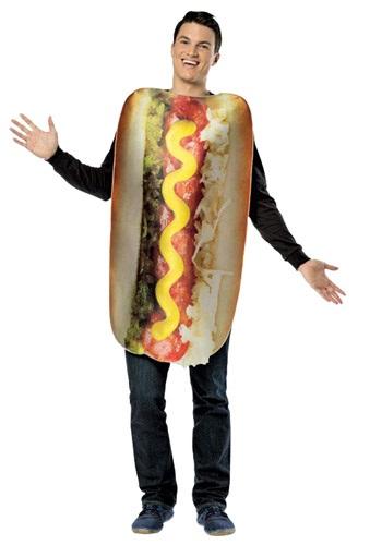 Disfraz de hot dog Get Real para adulto