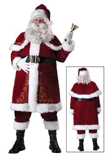Disfraz de Santa Jolly Ole St. Nick talla extra