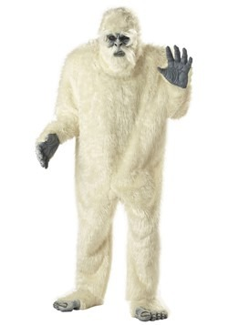 Disfraz de muñeco de nieve abominable para adulto