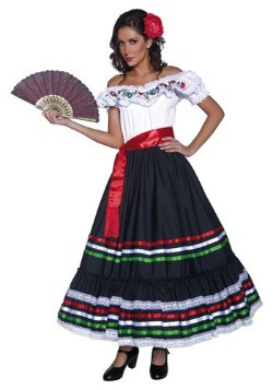 Disfraz auténtico de señora del Oeste