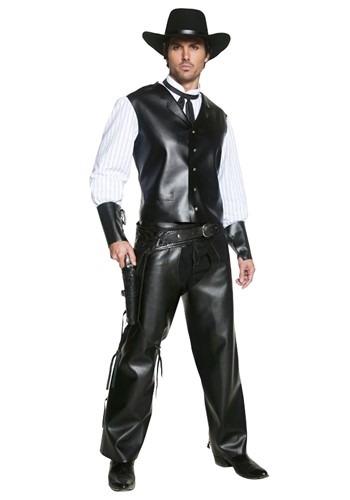 Disfraz auténtico de pistolero del Oeste