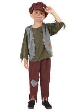 Disfraz infantil de niño pobre victoriano