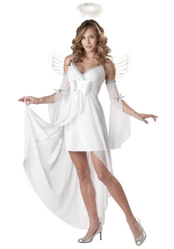 Disfraz de ángel divino para adulto