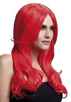 Peluca roja Fever Khloe Neon
