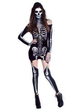 Disfraz de mujer con rayos X